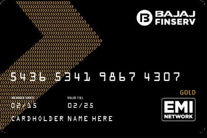 Bajaj Finserv EMI Card